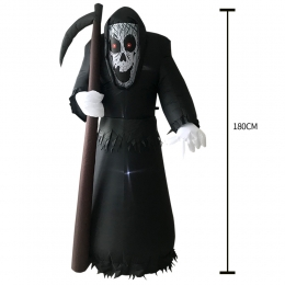 Inflatable Costumes Scythe Reaper Model