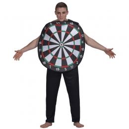Men Halloween Costumes Dart Board Shape