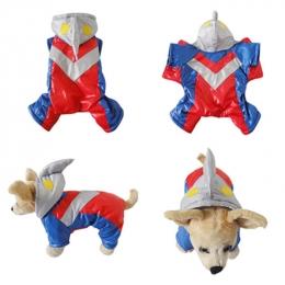 Pet Halloween Costumes Ultraman Suit