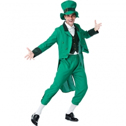 St. Patrick's Day Irish Leprechaun Men Costume