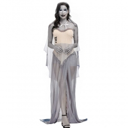 Horror Ghost Clothes Zombie Bride Victor Emily Women Costume