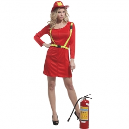 Military Halloween Costume Female Firemen