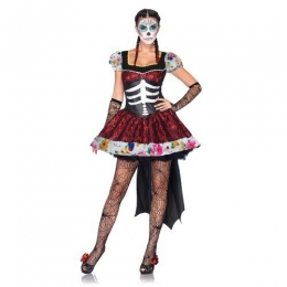 Day of the Dead Costume Women Dress